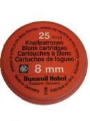 Platzpatronen Kaliber 8mm