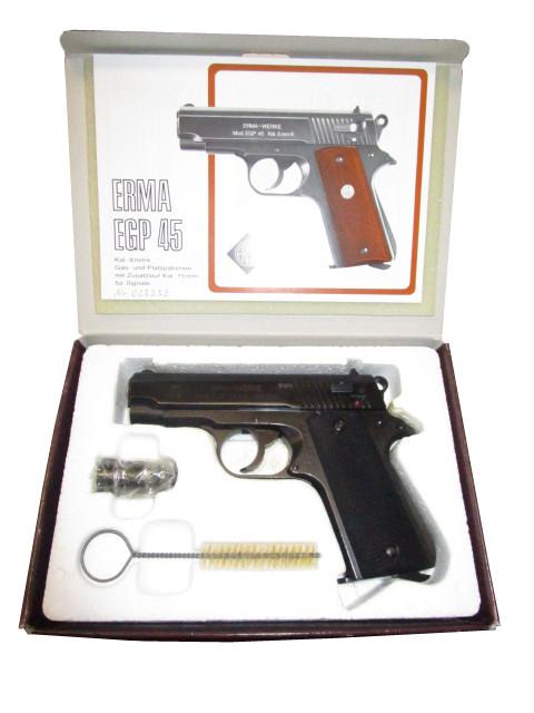 Gaspistole Erma EGP 45 8mm K