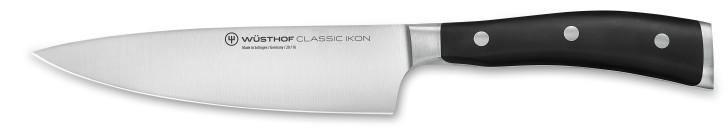 CLASSIC IKON BLACK Kochmesser 16 cm