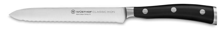 CLASSIC IKON BLACK Aufschnittmesser 14 cm