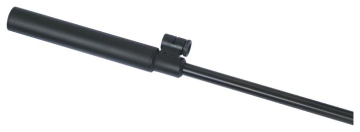 Weihrauch Schalldämpfer / Silencer für Laufdurchmesser 15 mm