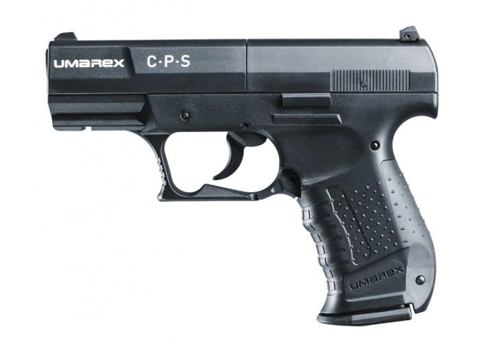 CP Sport Griffstück schwarz, Schlitten schwarz CO2-Pistole 4,5mm