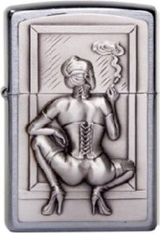"Orginal ZIPPO 1300127 ""Smoking Woman"""