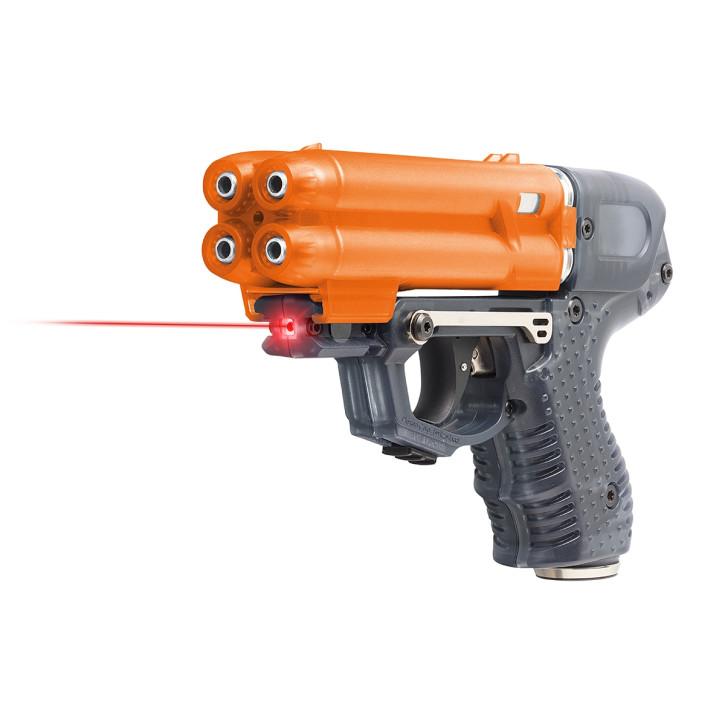 Pfefferspray JPX6 mit 4 Schuss Speedloader mit Laser