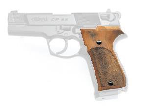 Holzgriffschalen für alle Walther CP88 Luftpistolen
