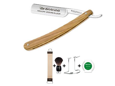 Rasiermesser-Set bestehend aus Rasiermesser und Pflegeset 090012!