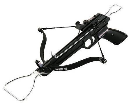 Armbrustpistole Power-Shooter, inklusive 3 Metallpfeile
