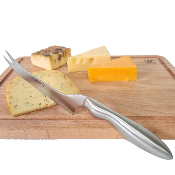 Käsemesser für Schnittkäse mit Gabelspitze 13 cm
