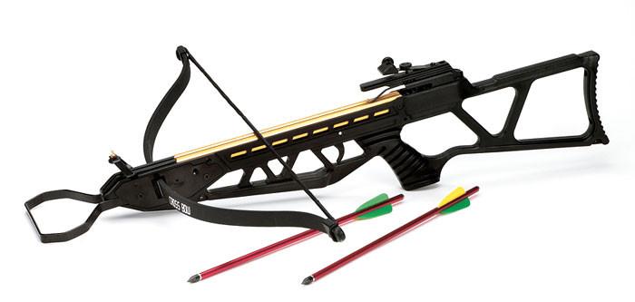 Armbrustgewehr mit Skelettschaft, 120 lbs