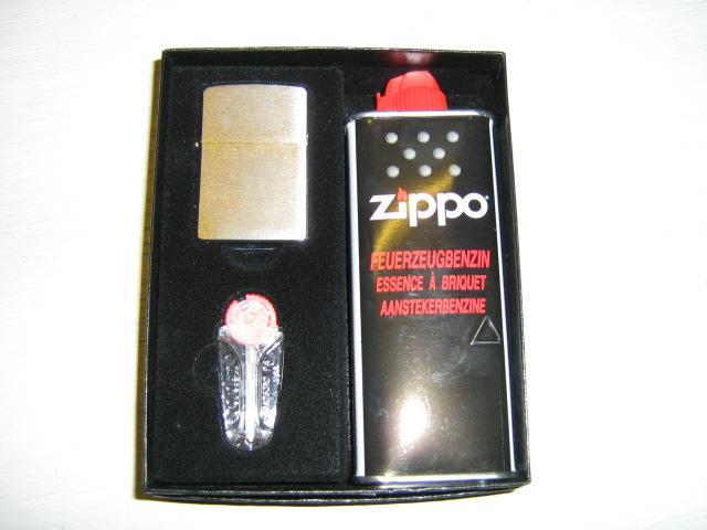 Zippo in Geschenkbox