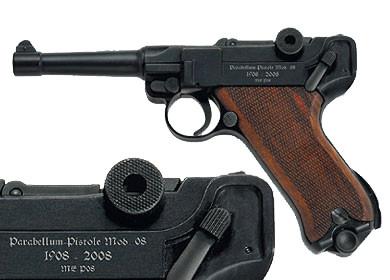 Melcher P08 100 Jahre Jubiläum Signalpistole