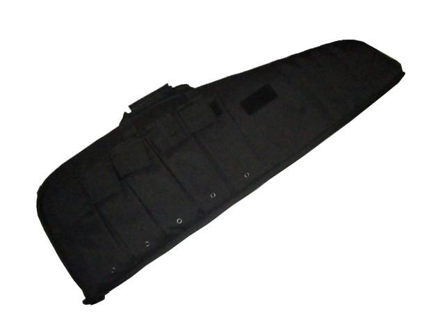 Rifle Case mit Tragegurt schwarz 95cm