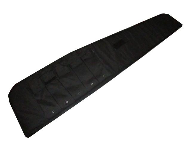 Rifle Case mit Tragegurt schwarz 135cm