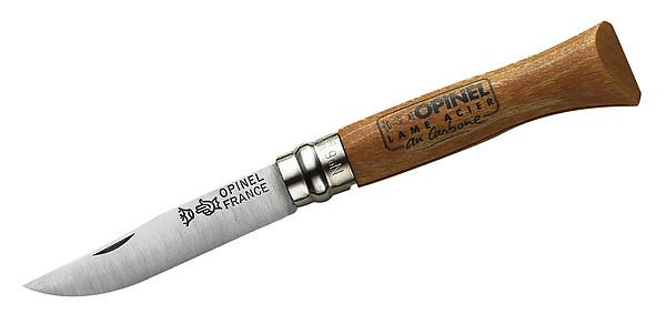 Opinel-Messer, Größe 6, nicht rostfrei