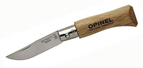 Opinel-Messer, Größe 2, rostfrei
