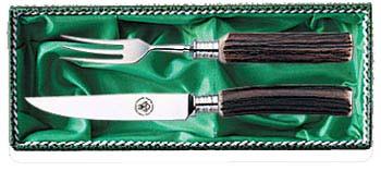 Linder, Messer und Gabel, Steakbesteck Serie 4
