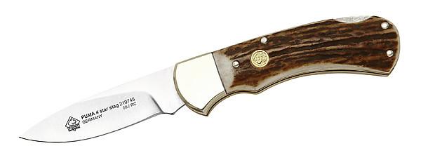 Puma Jagd-Taschenmesser, Modell 4-Star Stag, Stahl 1.4110