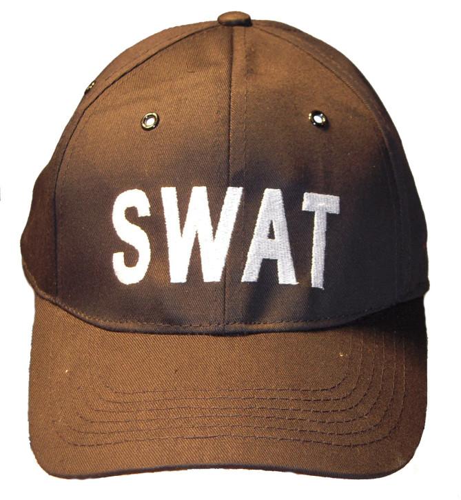 """Basecap mit \""""SWAT\"""" Aufschrift"""