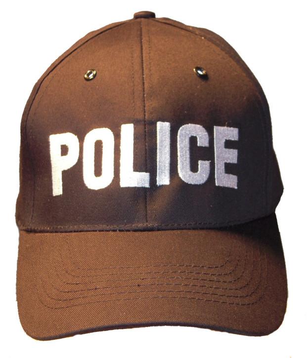 """Basecap mit \""""POLICE\"""" Aufschrift"""