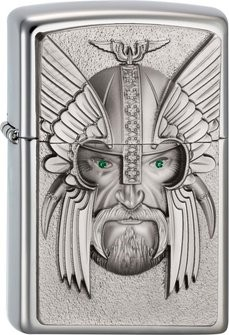 "Orginal ZIPPO 2003534 ""Green Eyed Viking"""