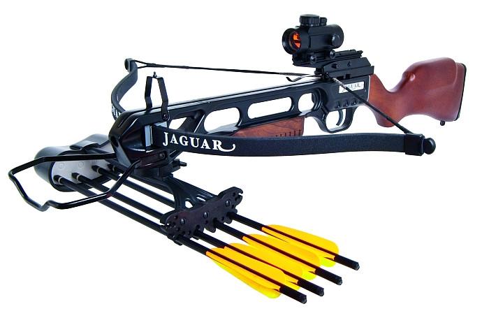Recurve Armbrust Jaguar Holz