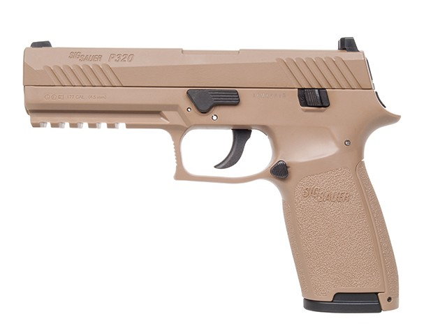 Sig Sauer P320 Blow Back Coyote TAN Co2 Pistole