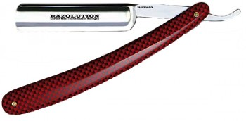 "Razolution. Modell ""Racing Red / Carbon\"""
