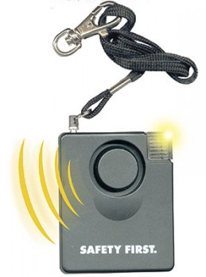 Schutzalarm Safety First mit Licht
