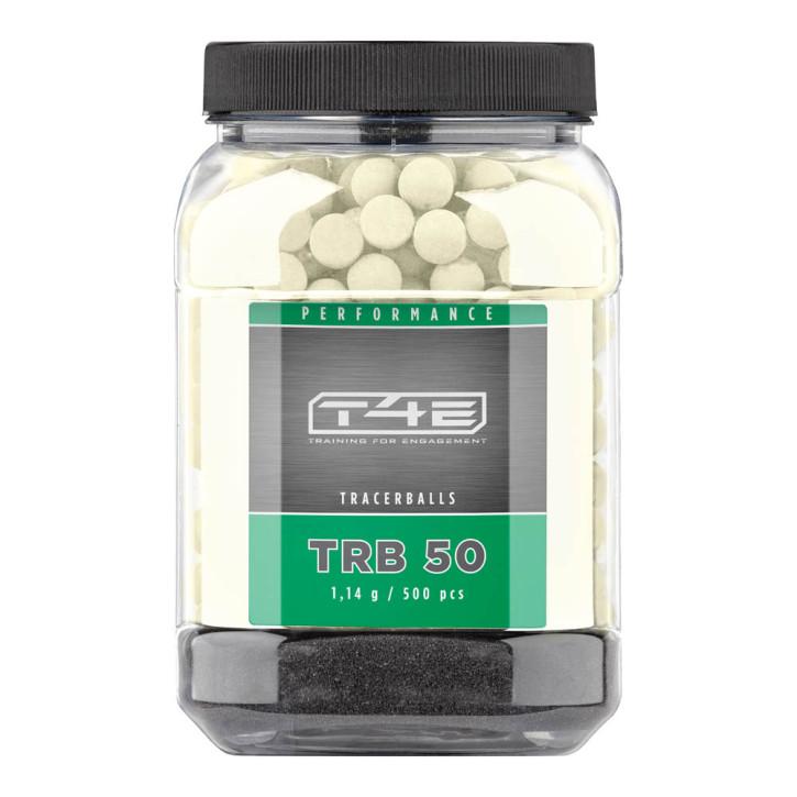 T4E Performance TRB 50 cal. .50 - Inhalt 500 Stk., Gummikugeln, Tracer