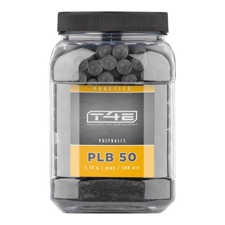 T4E Practice PLB 50 cal. .50, 500 Stk., Kunststoff