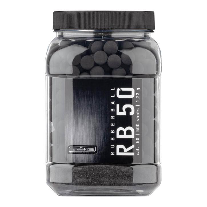 T4E RB 50 Prac Series .50 Rubberballs - Inhalt: 500 Stk.