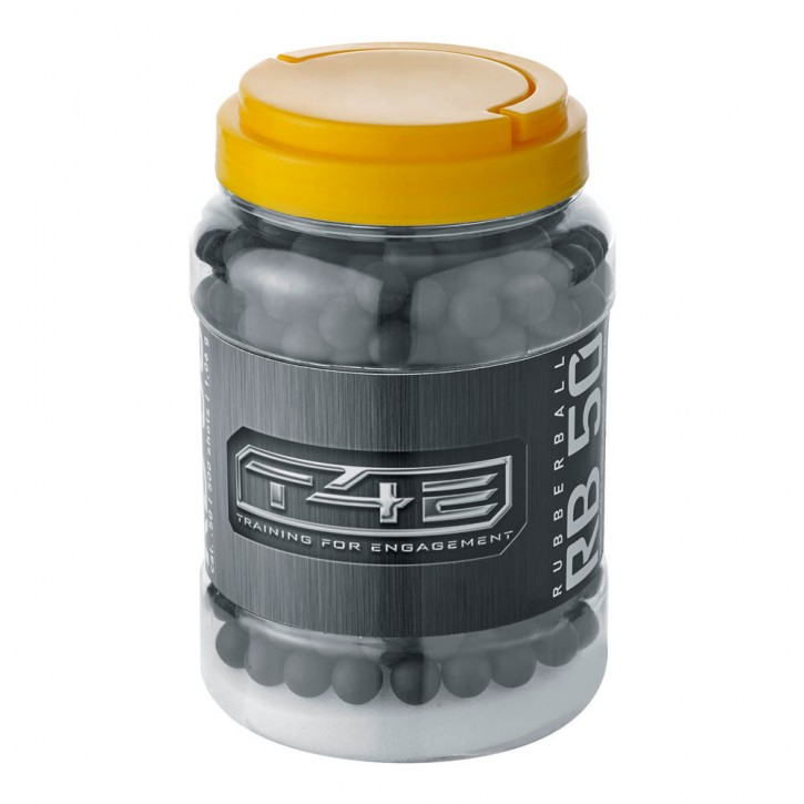 T4E RB 50 .50 Rubberballs - Inhalt: 500 Stk.