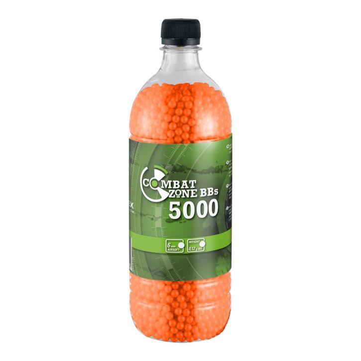 Combat Zone BB´s Basic Selection rot 5000 Stück