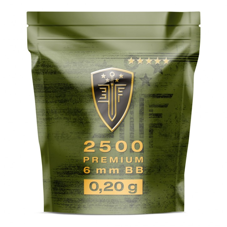 Elite Force BB Premium Selection 0,20 g - 2500 Stück, weß