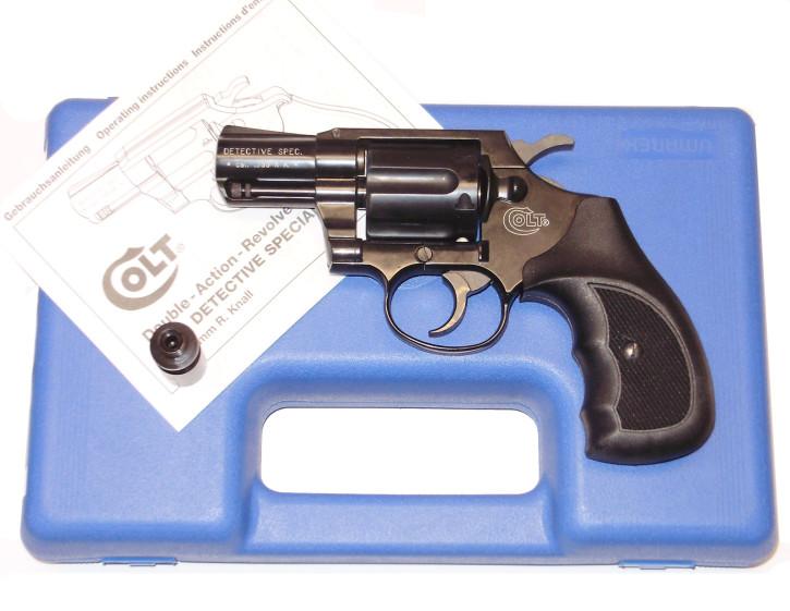 Colt Detective Special brueniert, Kunststoffgriffschalen
