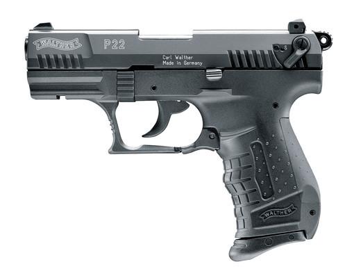 Walther P22, brüniert, 9mm P.A.K.