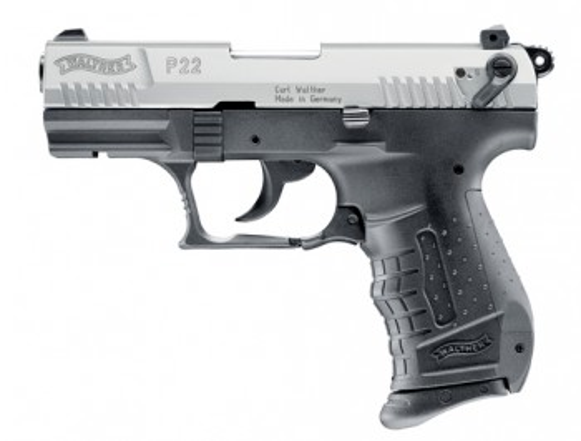 Walther P22, vernickelt, Gas- Signal- freie Waffen