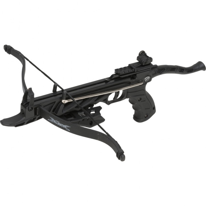 Armbrustpistole Alligator schwarz 80lbs