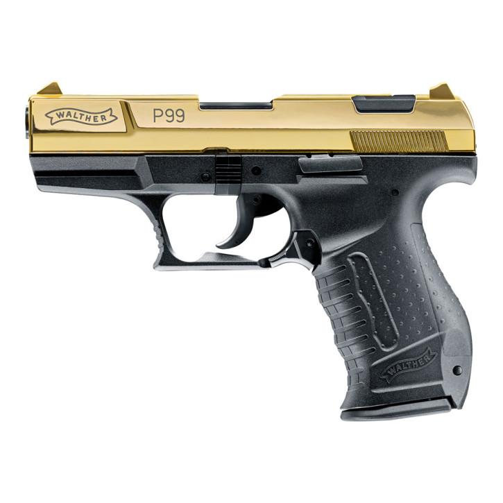 Walther P99 24Karat Gold Finish
