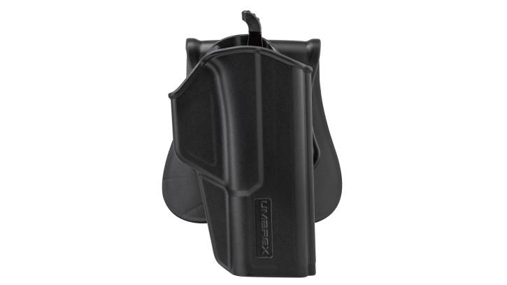Umarex Polymer Paddle Holster Compact für GLOCK 17 / 19 etc.