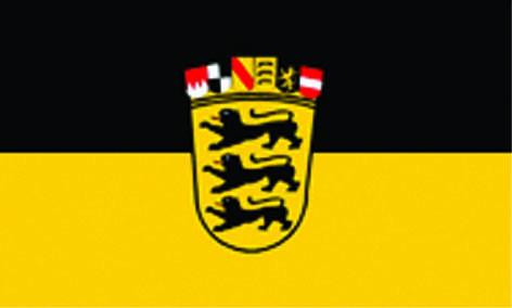 Baden mit Wappen
