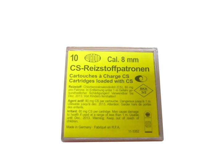 Wadie CS - Reizstoffpatronen Kaliber 8 mm