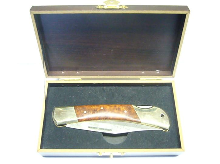 Haller Damast-Taschenmesser in Geschenkbox