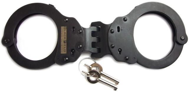 BlackField Handschellen (Breitscharnier)