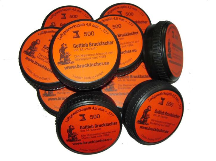 5000 Schuß Kaliber 4,5mm  Diabolo-Kugeln / Kelchkugeln