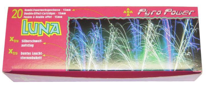 ABA Pyro Power Luna 20 Kombi - Feuerwerksgeschosse