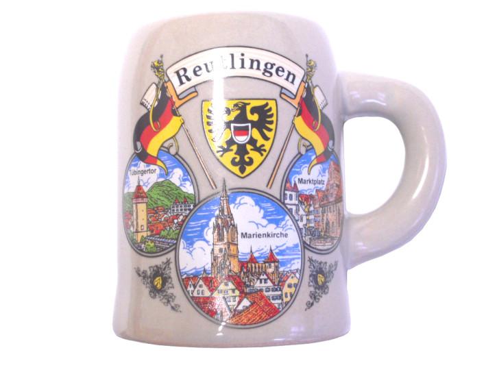 Reutlinger Steinzeug - Krügchen 6 cm
