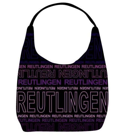 Reutlinger Tasche schwarz-lila