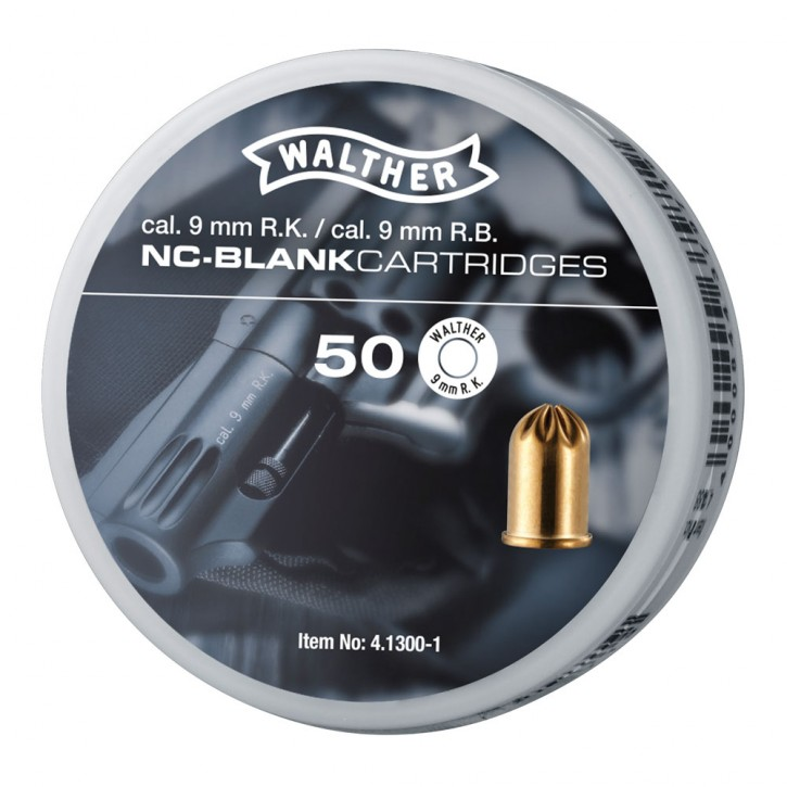 Platzpatronen Walther 9mm für Revolver