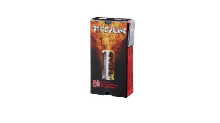 Perfecta Titan 50 Schuß Platzpatronen 9 mm P.A.K.